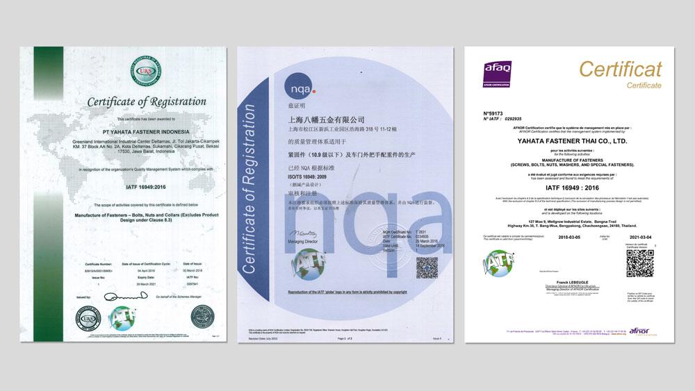 VM推進賞受賞、環境マネジメントシステムISO14001、品質管理システムISO9001、同時認証取得